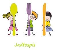 animowany obrazek przedstawiajacy trójkę małych dzieci trzymających w dłoniach kolorowe sztućce