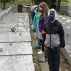 wizyta na żołnierskich grobach